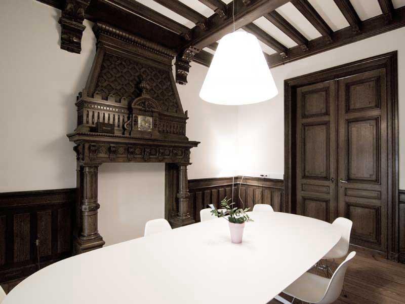 Villa juris lawfirm te hasselt cocoon architecten genk for Interieur hasselt
